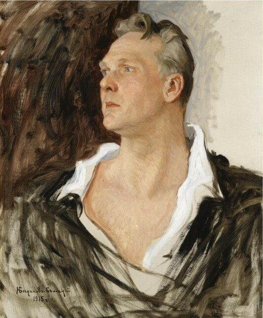 Портрет Шаляпина Николай Богданов-Бельский