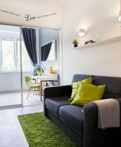 Небольшая квартира со стильным дизайном