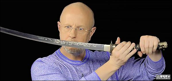 Сергей Поликарпов о японском мече (видео)