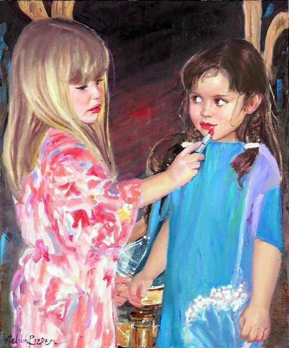 маленькие девочки Nelda Pieper