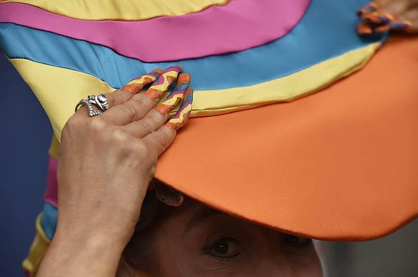 «День леди»: парад шляпок на скачках Royal Ascot 2016 0 165a36 7b961e5e orig