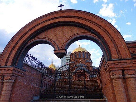 Новосибирск. Собор во имя святого благоверного Александра Невского