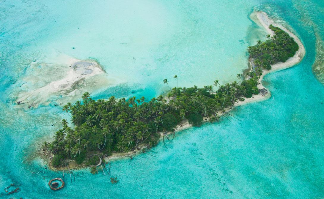 Три-Айленд Южно-Китайское море Этот красивый остров необитаем, поскольку на него претендуют сраз
