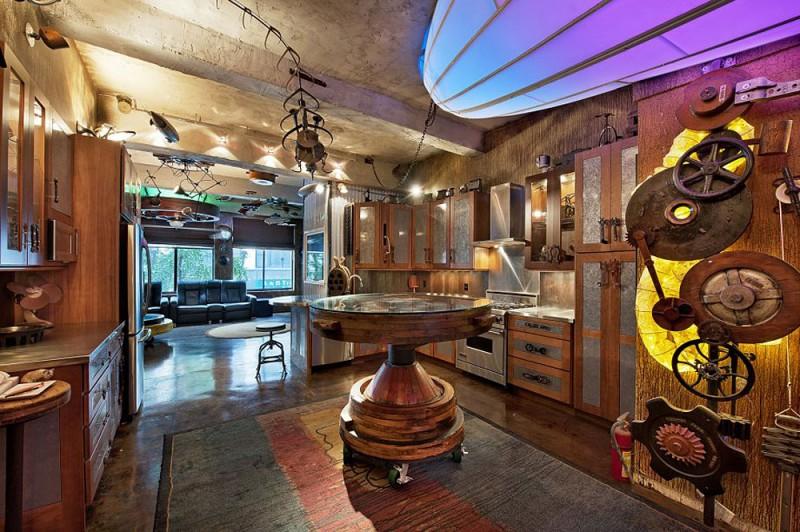 Стимпанк квартира в Нью-Йорке (7 фото)
