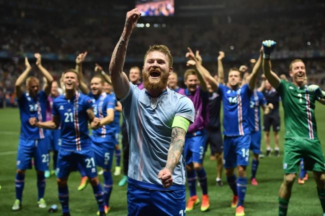 Исландия может похвастаться крутой командой пофутболу. Иони это доказали наЕвро— 2016. Фото нап
