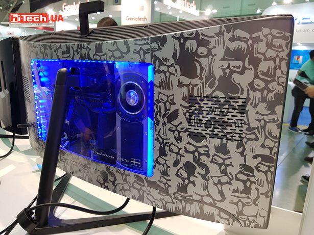 На выставкеComputex 2016 можно найти много разных устройств с необычными решениями. Одним из