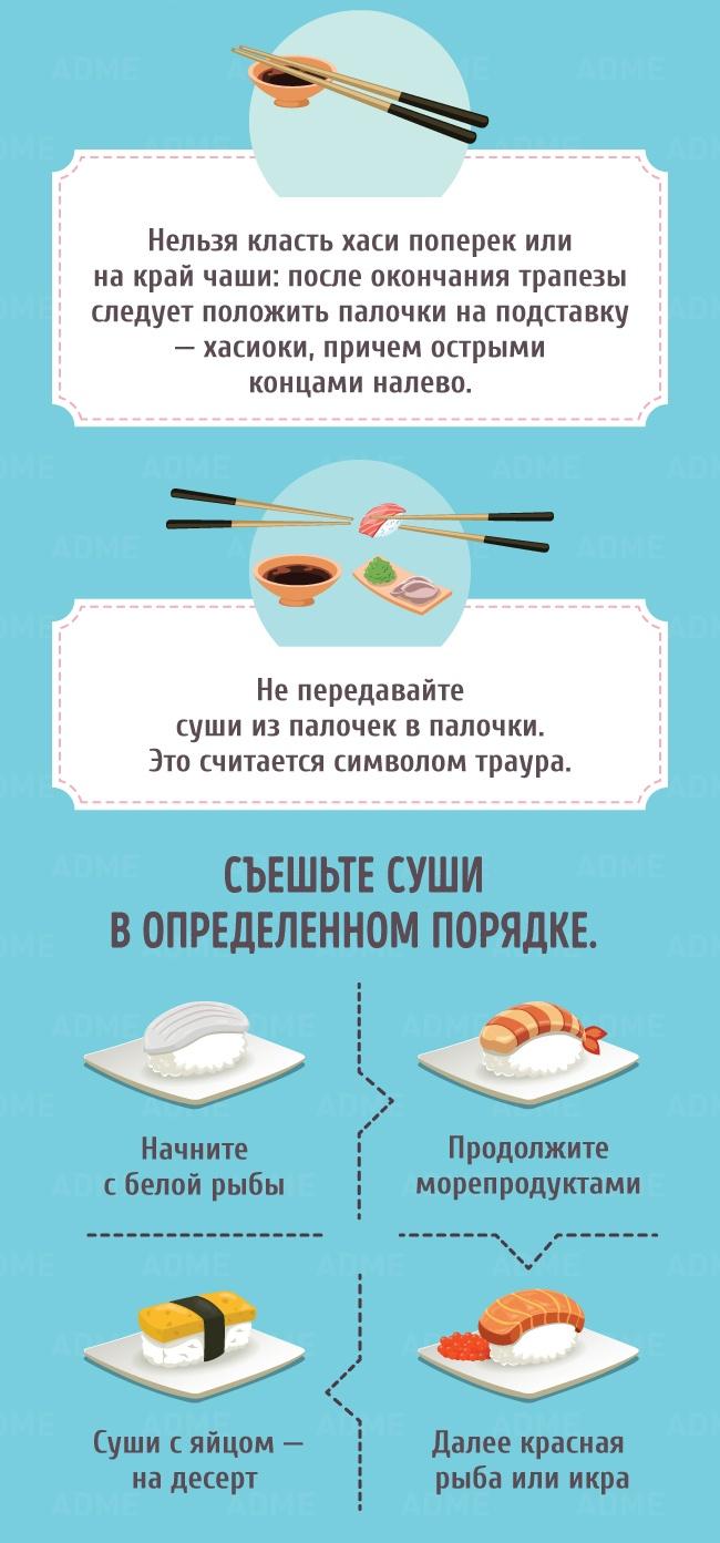 8фактов, которые следует знать всем любителям суши