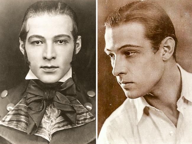 Все сходят сума откинематографа иРудольфа Валентино— звезды немого кино. Почти любой мужчина сз