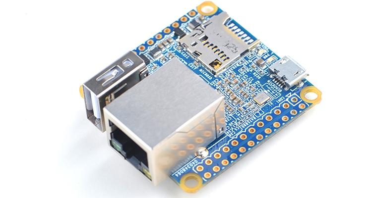 Изделие NanoPi NEO базируется на процессоре Allwinner H3 с четырьмя вычислительными ядрами Cortex-А7