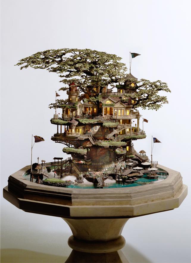12. Это творение в стиле лучших Гавайских курортов. (©TOKYO GOOD IDEA Development Institute Co.
