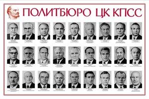 1981. Политбюро ЦК КПСС.