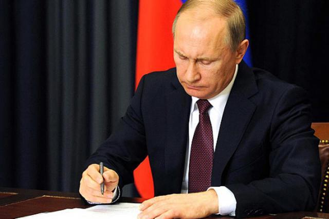 Владимир Путин подписал нетот закон оРосгвардии— пресс-секретарь главы российского государства