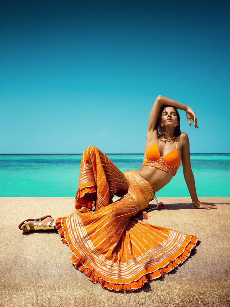 Orange Crush: Fashion Photography by Luis Monteiro & Rob Dewey