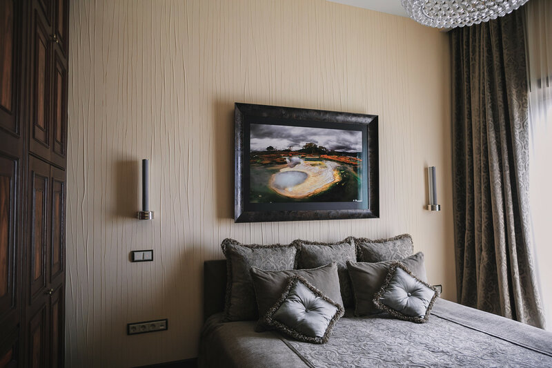мужской интерьер - спальня
