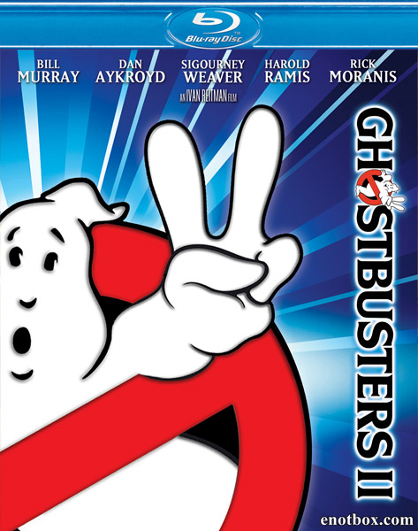 Охотники за привидениями2 / Ghostbusters II (1989/BDRip/HDRip)