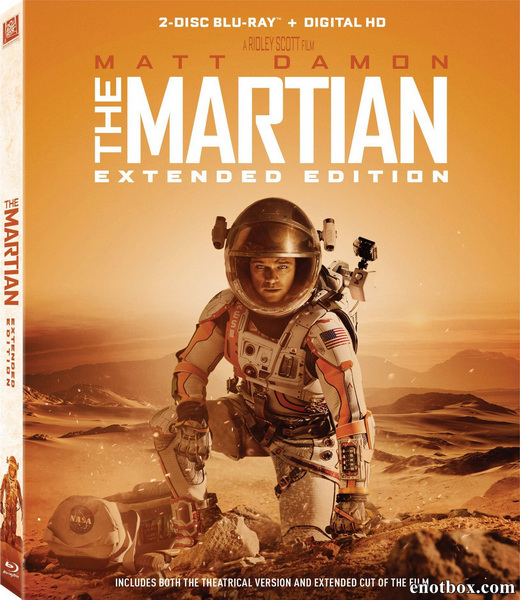 Марсианин [Расширенная версия] / The Martian [EXTENDED] (2015/BDRip/HDRip)