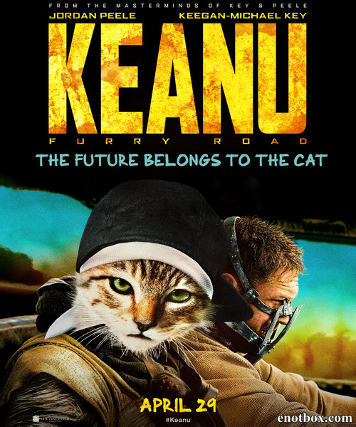Киану / Keanu (2016/WEB-DL/WEB-DLRip)
