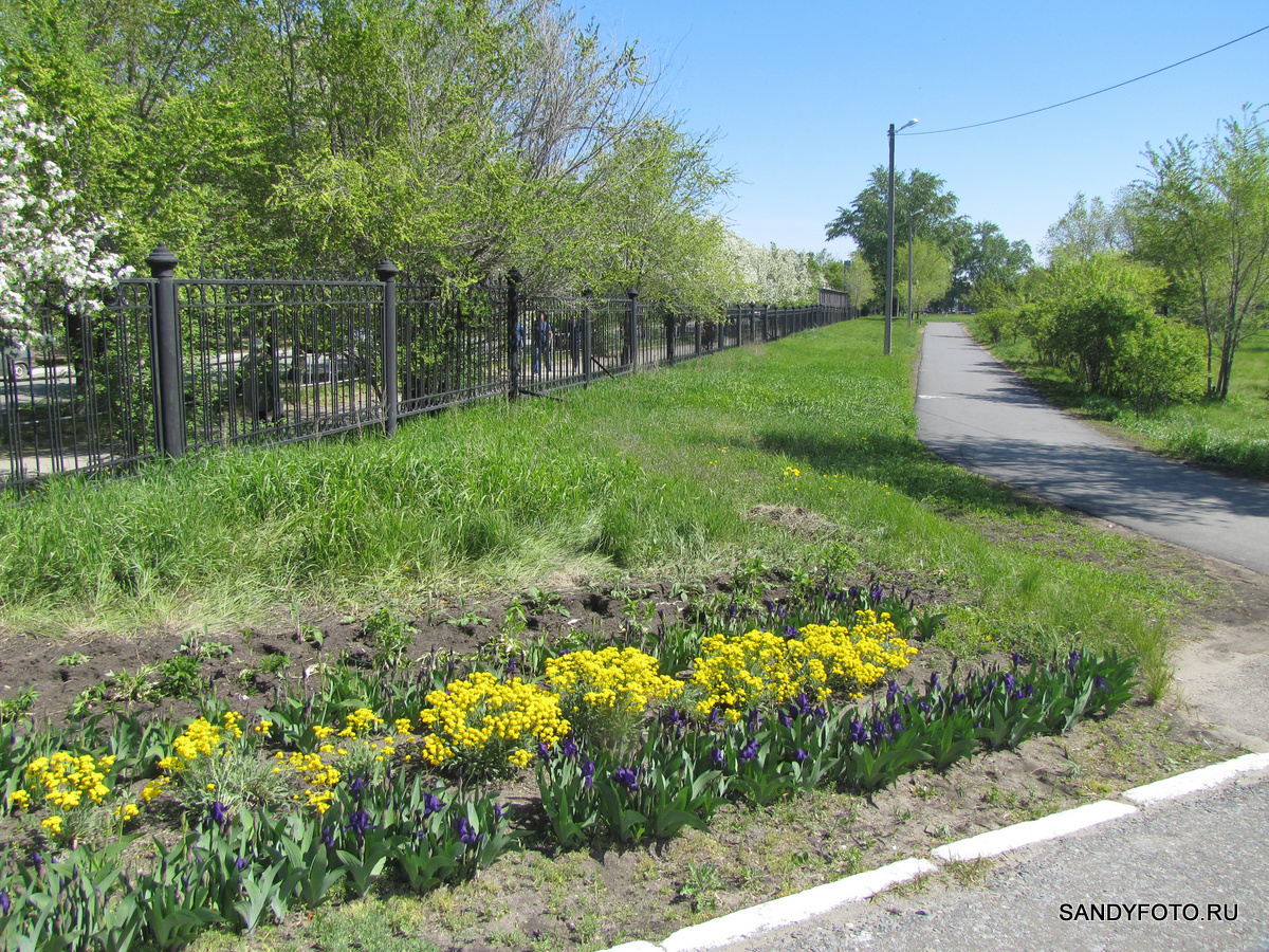 Цветущий Троицк — Городской Парк — часть пятая