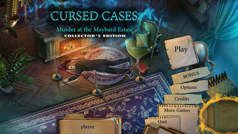 Cursed Cases: Murder at the Maybard Estate CE