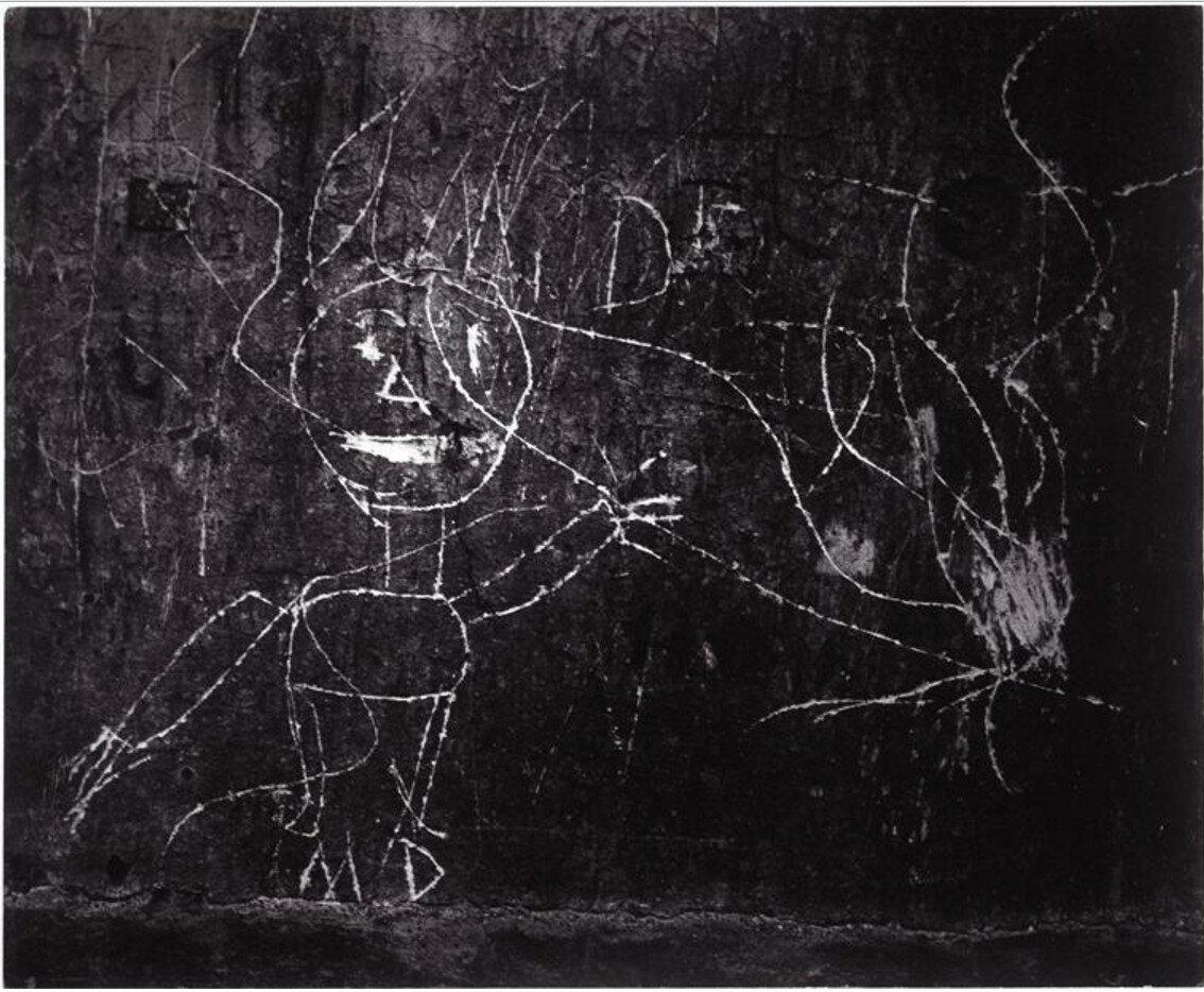 1935. Граффити. Серия VIII Магия