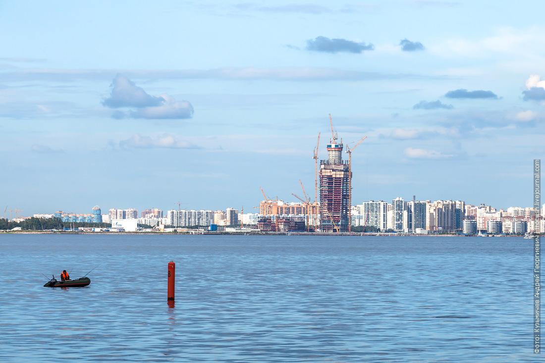 газпромовский небоскреб