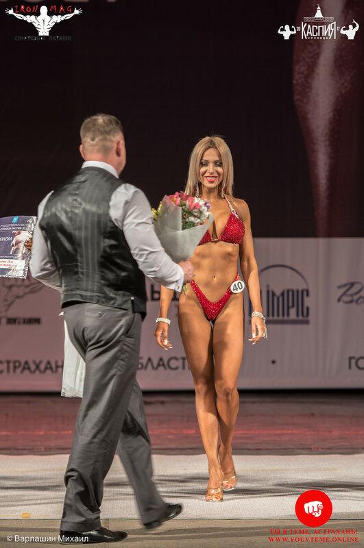 Кубок «Столица Каспия» по бодибилдингу 2017: Фитнес-бикини 166 см