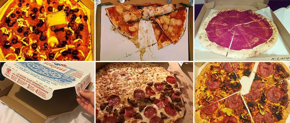 #pizzafail: худшие пиццы доставленные клиентам