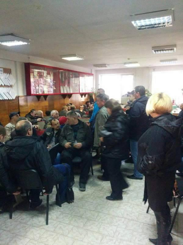57 работников шахты в российском Приморье объявили голодовку. ФОТО