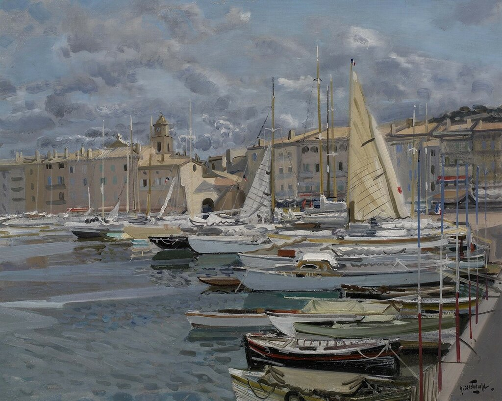 Gabriel Deschamps - The Harbour, St. Tropez - 32726-2426.jpg
