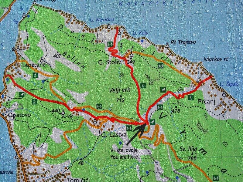 Бока Которская бухта, поход в Горнюю Ластву и Столив