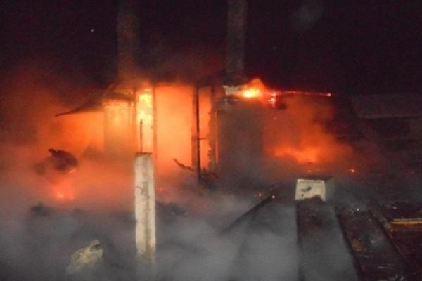 В Чувашии сгорело здание фельдшерско-акушерского пункта