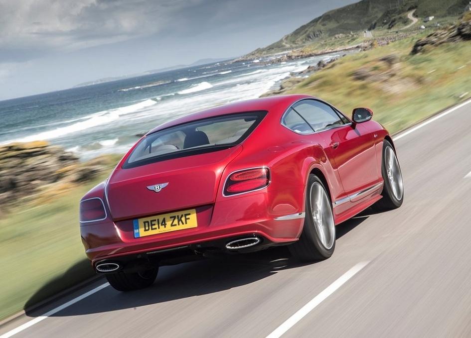 Bentley Continental GT станет подзаряжаемым гибридом