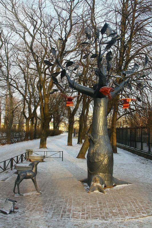 Дерево желания в Кронштадте
