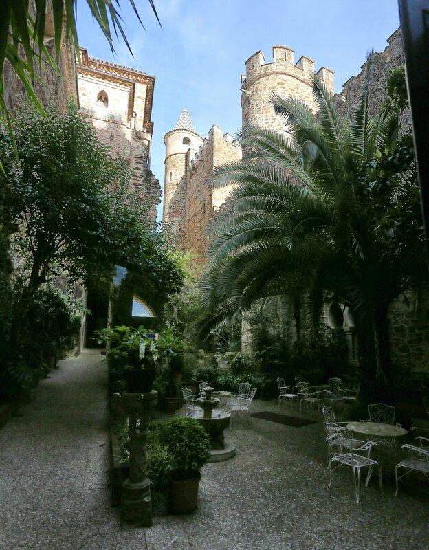 Guadalupe. Guest Quarters of Monastery (Hospedería del Real Monasterio hotel)