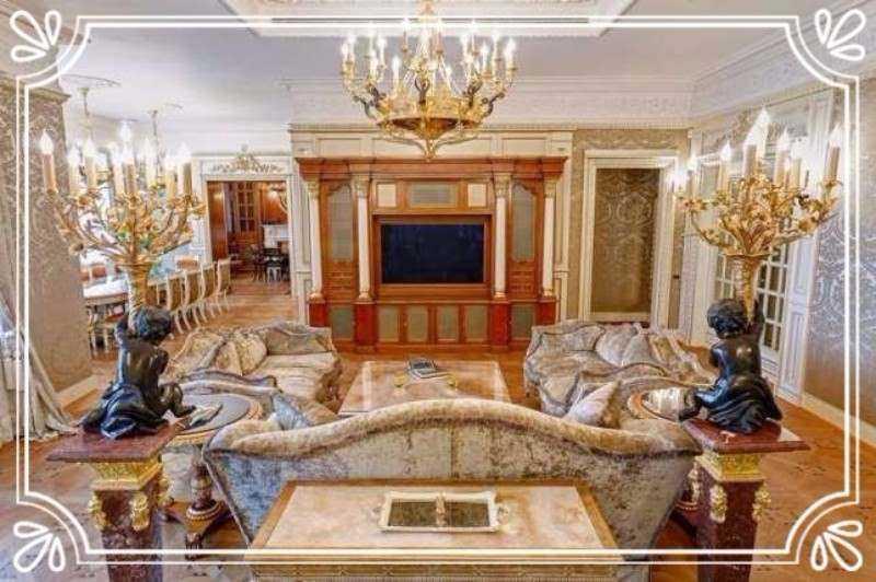 Апартаменты с мрамором и эбеновым деревом — 6,5 млн долларов 5-комнатные апартаменты площадью 389 «к