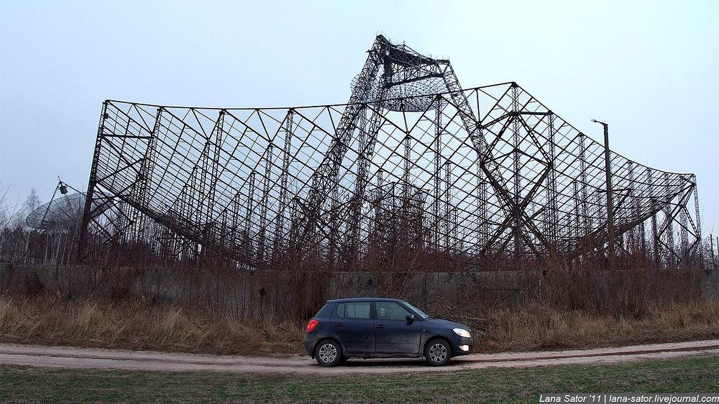 Эта заброшенная станция изучения ионосферы находится на Украине.