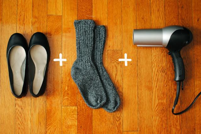 4. Во время сушки немного покачивай ногами из стороны в сторону, чтобы воздух распределялся равн