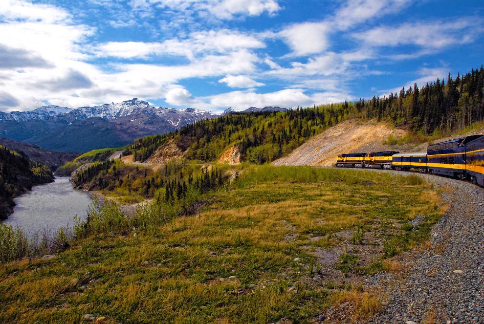 Durango and Silverton Narrow Gauge Railroad (Колорадо, США) Маршрут: Дуранго — Силвертон Время