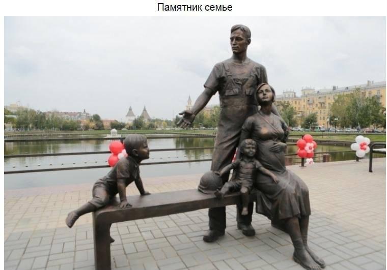 Скульптурная композиция на смотровой площадке перед Лебединым озером в городе Астрахани была отк