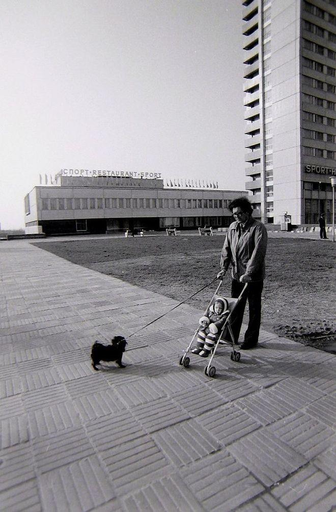 45. Москва, Юго-Запад, Ленинский проспект, «Спорт», 1982 г.
