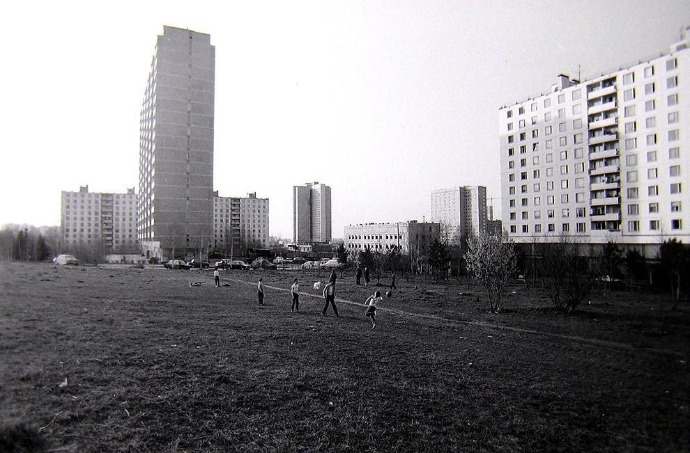 46. Москва, Юго-Запад, ул. Удальцова, 1982 г.