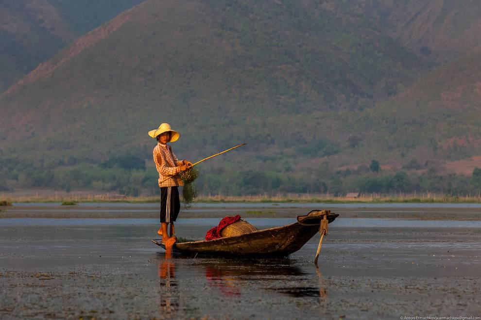 С наступлением темноты лов прекращается и рыбаки спешат домой, чтобы успеть отдохнуть перед утренней