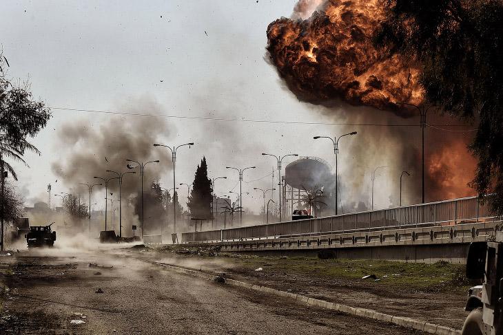 Жизнь в иракском городе Мосул (24 фото)