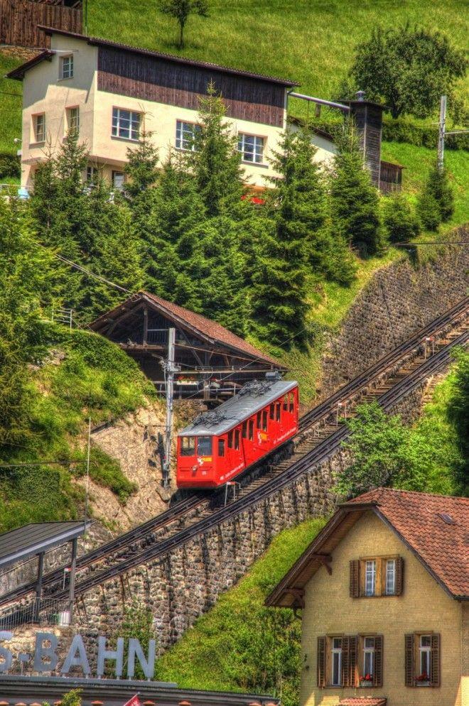 Как выглядит самая крутая железная дорога в мире