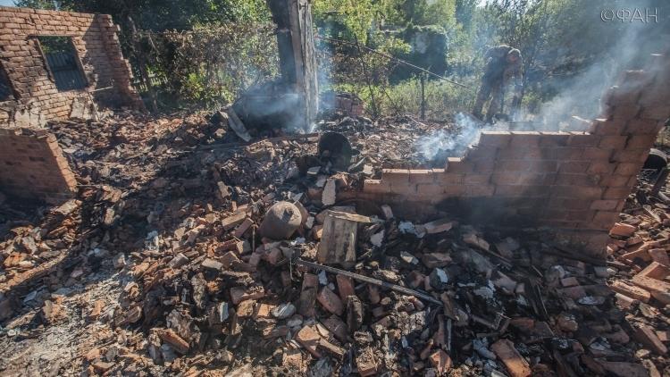 ВСУ засутки около 800 раз нарушили перемирие вДНР