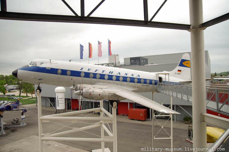 Viscount 814 в музее Speyer