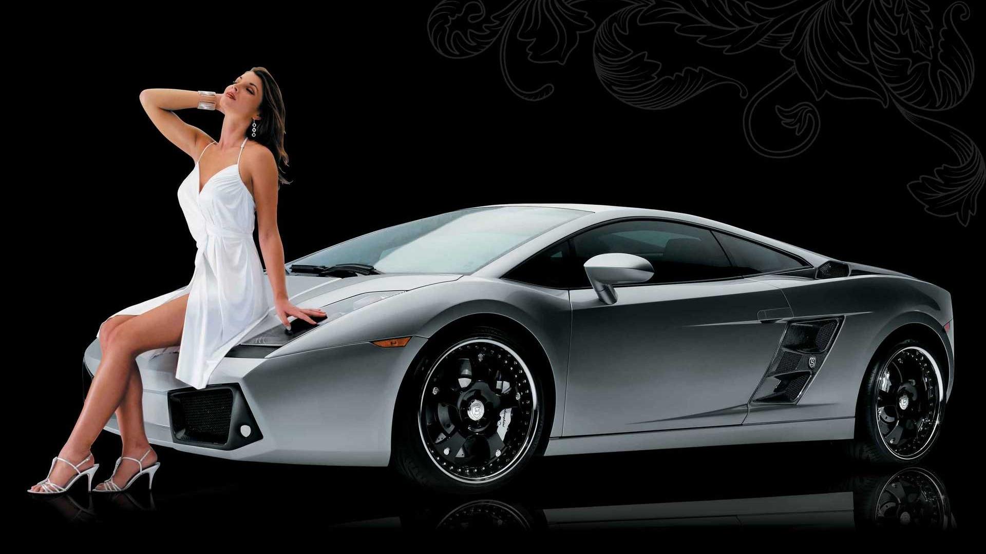 Фото: автомобили и женщины - Подборка фотографий в большом разрешении