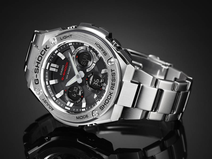 G-Shock Indestructible Steel Watch (6 pics)
