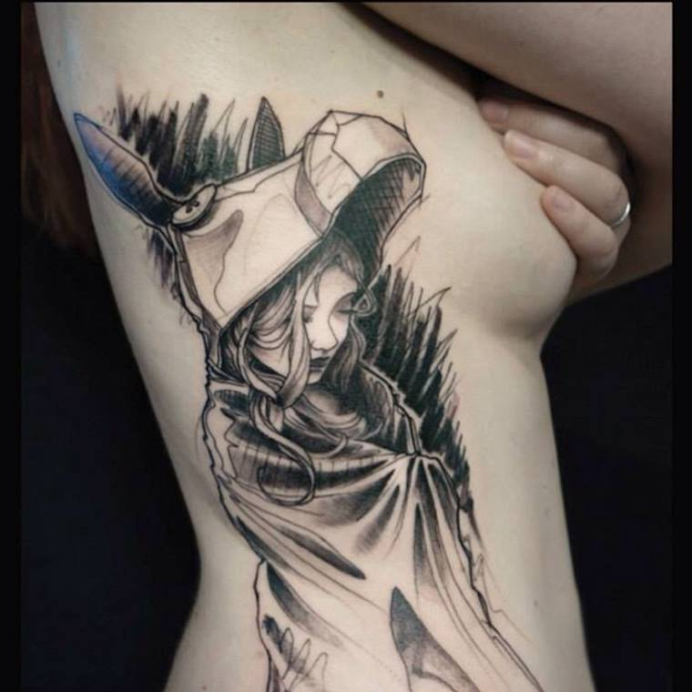 Sketch Tattoos - The creations of L'oiseau