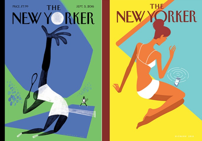 Stunning Christoph Niemann Illustrations for The New Yorker